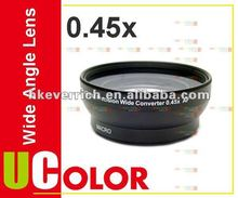 0.45X 58mm Wide Angle + Macro Lens For Canon 650D 600D 18-55mm Lens