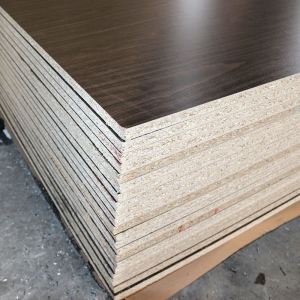 China Fushi particle board/chipboard/melamine PB