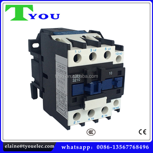 cjx2 3201 3210 ac contactor NO NC three phase contactor for switchgear panel board 220v single phase contactor