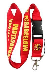 Football Club: Barcelona Lanyard - Red Lanyard - DGK neck lanyard - 25mm x 50cm
