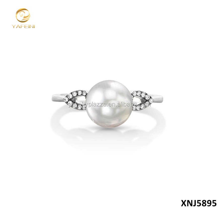 2017 New Custom Jewelry Manufacturer 925 Sterling Silver Pearl Ring Mountings