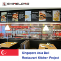 Singapore Asia Deli Restaurant Kitchen Project