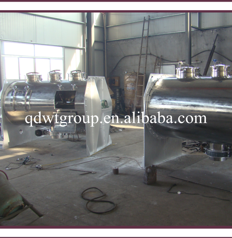 high shear horizontal plough mixer for powder