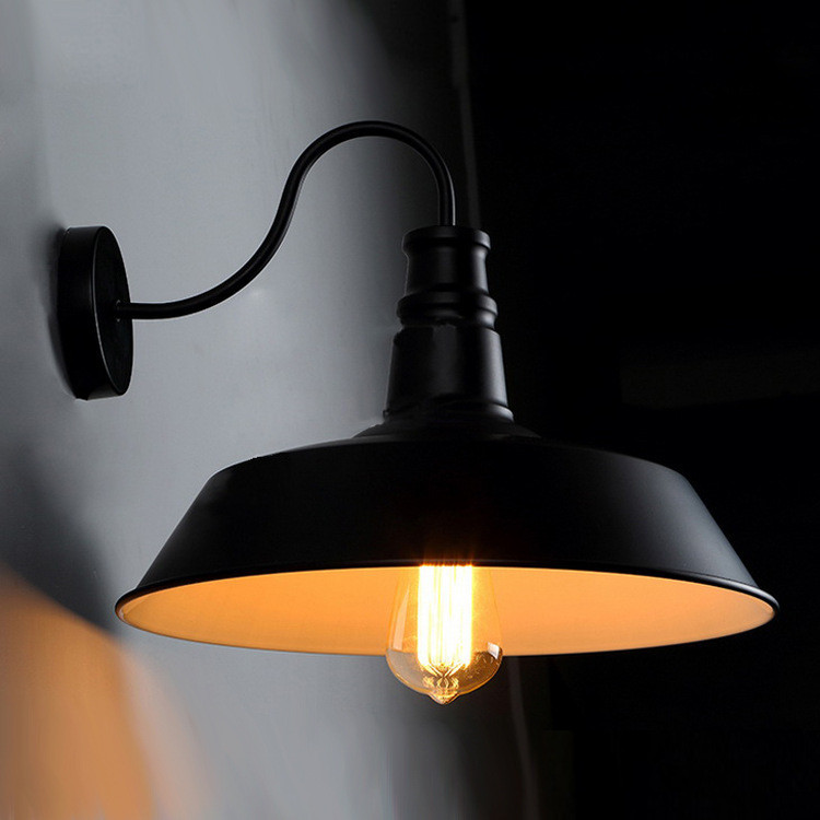 Barn Light Electric Company Coupon: Vintage Idustrial Age Retro Black Wall Lamp Barn Sconce