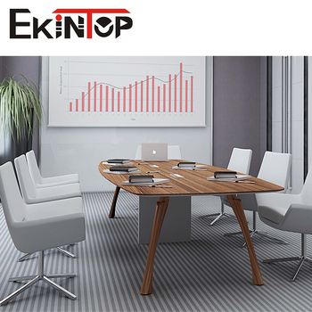 modern stylish office furniture 6 seater meeting table designs for conference room