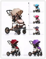 SM9188 wholesale adjustable handle en1888 top quality baby stroller 3 in 1