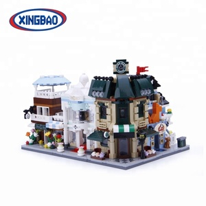 xingbao collection original city shop plastic children's block toy
