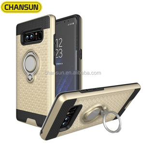 car holder magnetic finger ring shockproof tpu case for samsung note 8