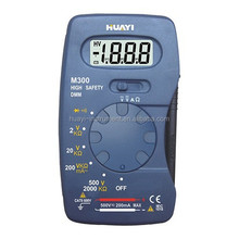 1999 counts professional digital multimeter m300 from huayi company