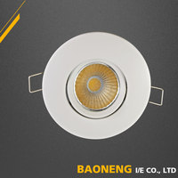High Quality Euro Standard Mini COB Power LED 3W Led Ceiling Light Fittings