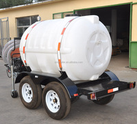 Small Plastic Water Tank Trailer With Pump For Car