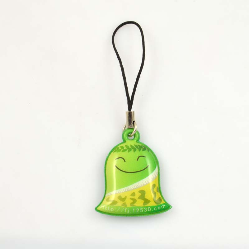Soft pvc anime fashion mobile phone pendant