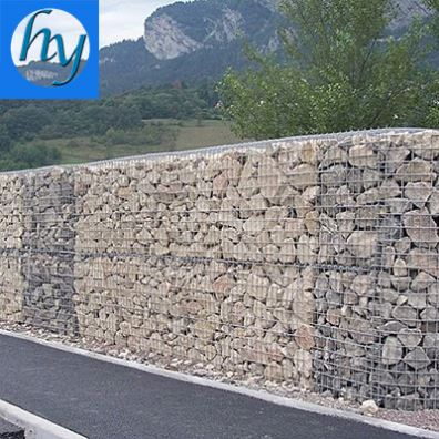 Stone Wall/Good price Galvanized Gabion Box And Basket (Factory)