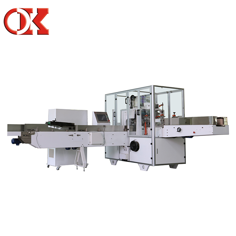 Less Trouble Customized Napkin Shrink Wrap Packaging Machine
