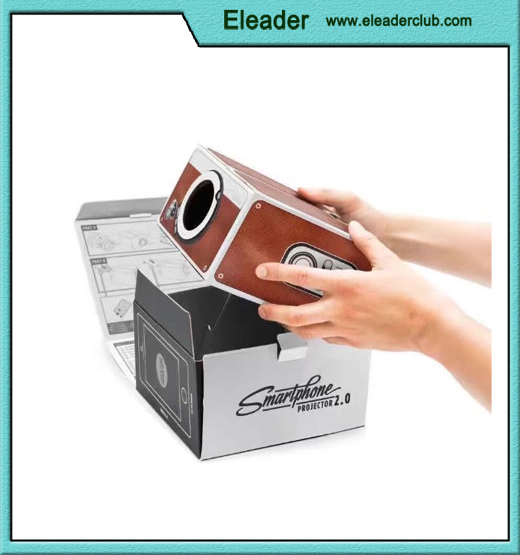 Cardboard Cellphone <strong>Projector</strong> Beamer <strong>Projector</strong> for iPhone 6 plus 6s 5s Sumsang S6 S5 HTC LG SONY, Smartphone