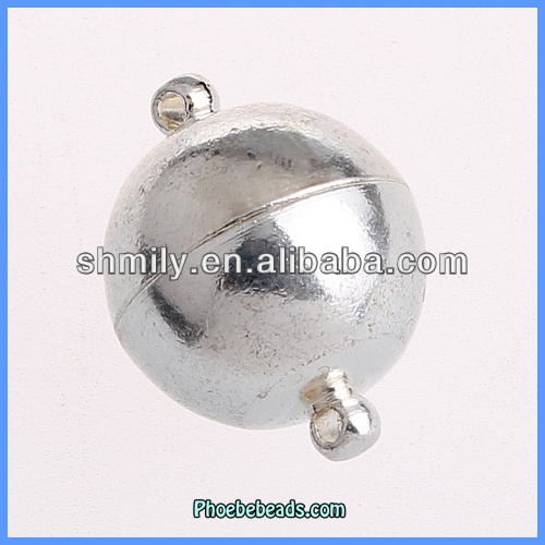 Wholesale High Quality Alloy Round Rings Magnetic Clasps For Jewelry Making PMC-M046
