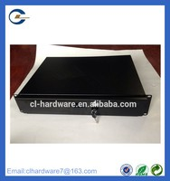 china supplier new products keyboard 6 space aluminum black drawer
