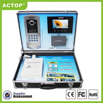 Actop Multi Apartments / Villa Video Intercom System Ce/ Rohs High ...