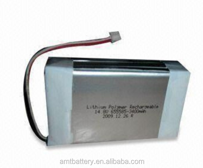 POS machine Li-polymer Battery Pack, 3.7V Voltage, Lead Out Two Wires