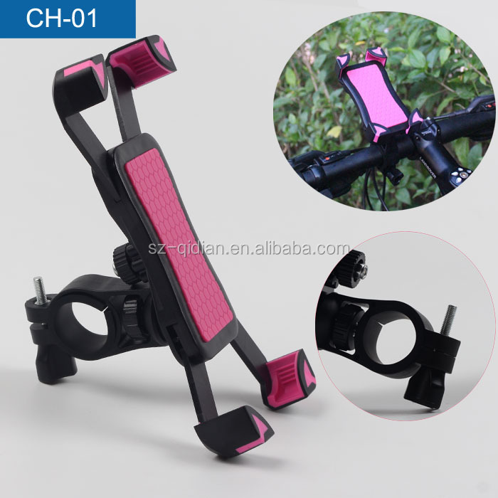 New Version Universal 360 Degree Rotate X-Grip Clamp Mount Bicycle Smartphone Bike Mount Holder For CellPhone