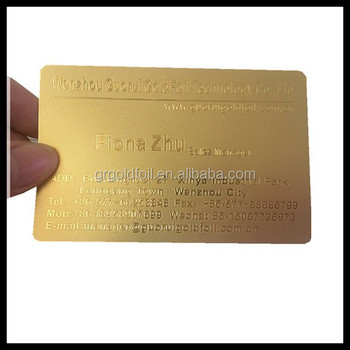 Silvergoldgolden metal business cardembossing cards buy gold silvergoldgolden metal business cardembossing cards reheart Gallery