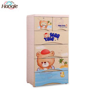 Multi-layer Environmental Friendly New PP Plastic baby Storage Drawer Cabinet
