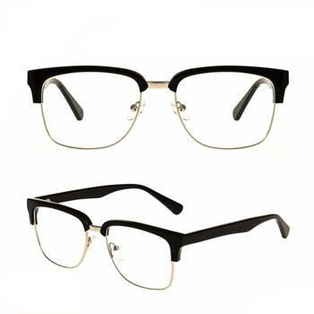 c5acde50e8 2018 China Hali-rim Cat Eye Women Pure Color Round Slim Optical Eyeglasses  Frames With Nose Pad - Buy Cat Eye Women Eyeglass Frame