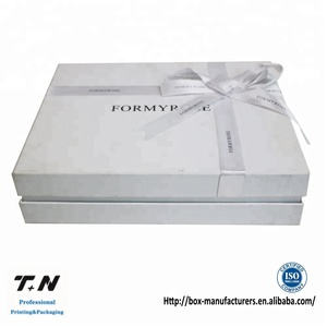 Elegant clothing packaging custom cardboard box for packing