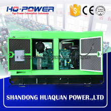 100kw 125kva silent diesel generator low fuel consumption for sale