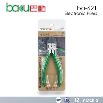 BAKU New Product Welding Multi Purpose Diagonal Cutting Electronic Pliers