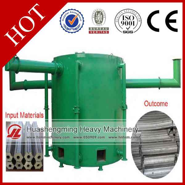 Charcoal Stove Palm Kernel Shells Activated Carbon Furnace