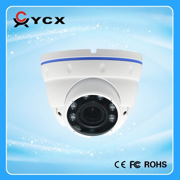 2.0M Pixel Metal AHD camera 1080P IP65 Vandal proof varifocal IR dome CCTV camera 2015 Factory Hot Sale