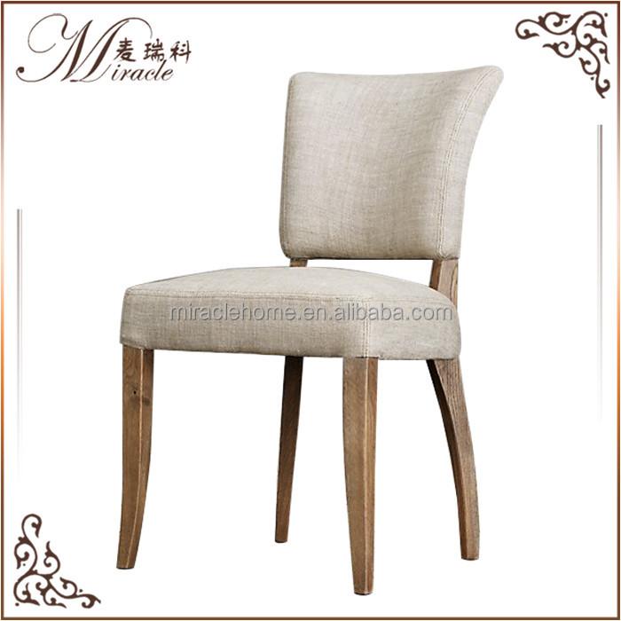 Venta al por mayor silla de madera tapizado de tela-Compre online ...