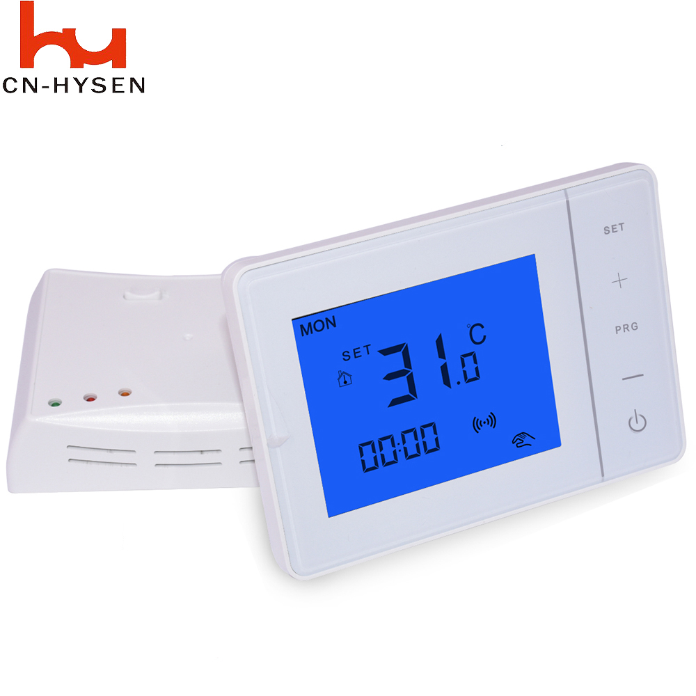 White Temperature Controller Digital Programmable Thermostat ...