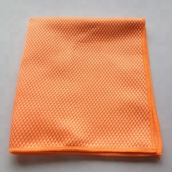 Fish Scale Shape Fabric Micro fiber Car Wash Towel / Micro fiber Towel