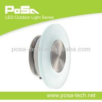 1w Outdoor Recessed Led Wall Light (ps-wl-led011)