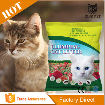 100% Natural Sodium active carbon: kind pet clumping Cat Litter bulk