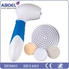Home salon facial brush Electric Facial Cleaner Face Care Massager Scrubber with 4 Replacement Brushes