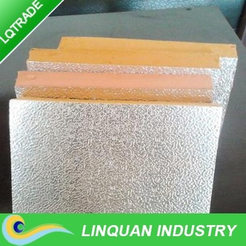 Exporting Phenolic foam insulation board with Aluminium Foil made in China