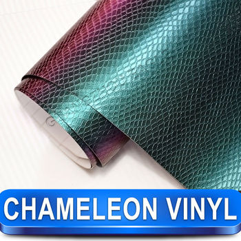 Guangzhou Eagle Self Adhesive Chameleon Carbon Fiber Car Wrapping Foil