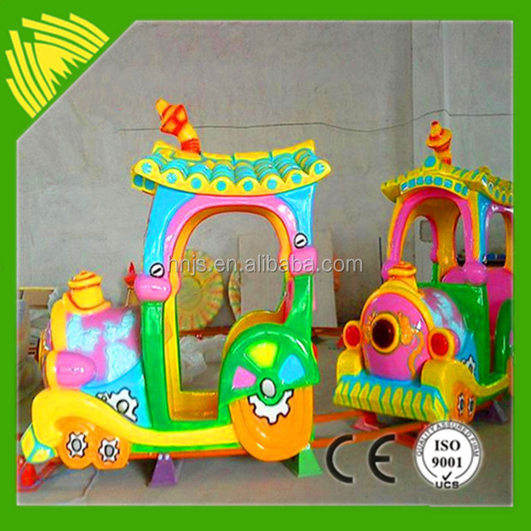 Colorful Children's Play Toys Electric Rail Tourist Train