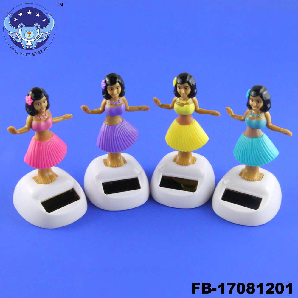 Cute Solar Powered Dancing Flip Flap Car Home Desk Dancer Bobble Toys  YL