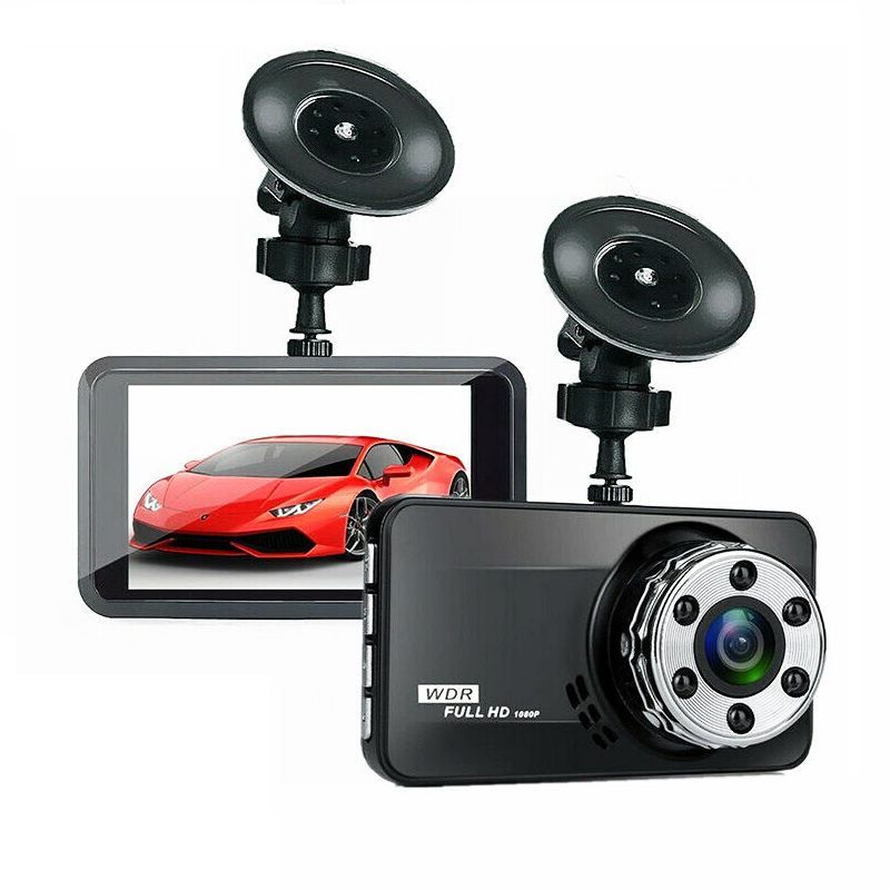 Dash Cam 1080P Full HD Car Camera DVR Dashboard Video Recorder In Car Camera Dashcam for Cars 170 Wide Angle WDR 3.0inch UK