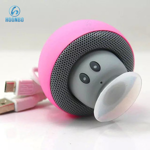 LED Light Bluetooth Speaker, Wireless Mini Mushroom LED Speaker