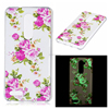 Luminous soft case skin cover for ZTE ZMAX Pro Z981 butterfly/flower/skull design