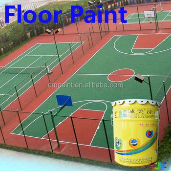 Floor Paint For Basketball Court Sports
