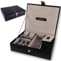 Quality double wine box wedding wine box carrier crate case best gift decor