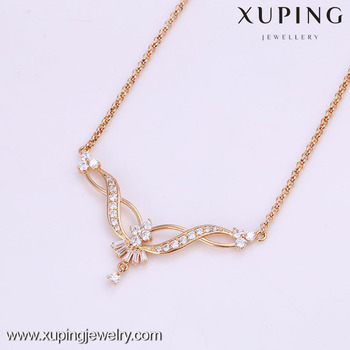 41859 xuping women fashion design simple gold chain necklace buy 41859 xuping women fashion design simple gold chain necklace aloadofball Image collections