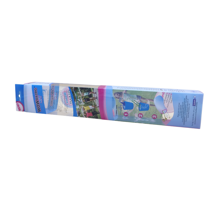 Factory offer packaging plastic folding box transparent pvc box with lid