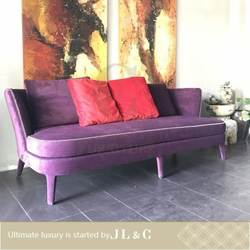 Bespoke Furniture Pink Fabric Sofa Solid Wood Frame Home Supplied By Jl C